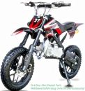 Dirtbike Pocketbike Paris 49ccm