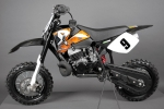 Dirt-Pocketbike NRG50 Crossbike, Moto