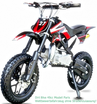 Mini Pocket Dirtbike